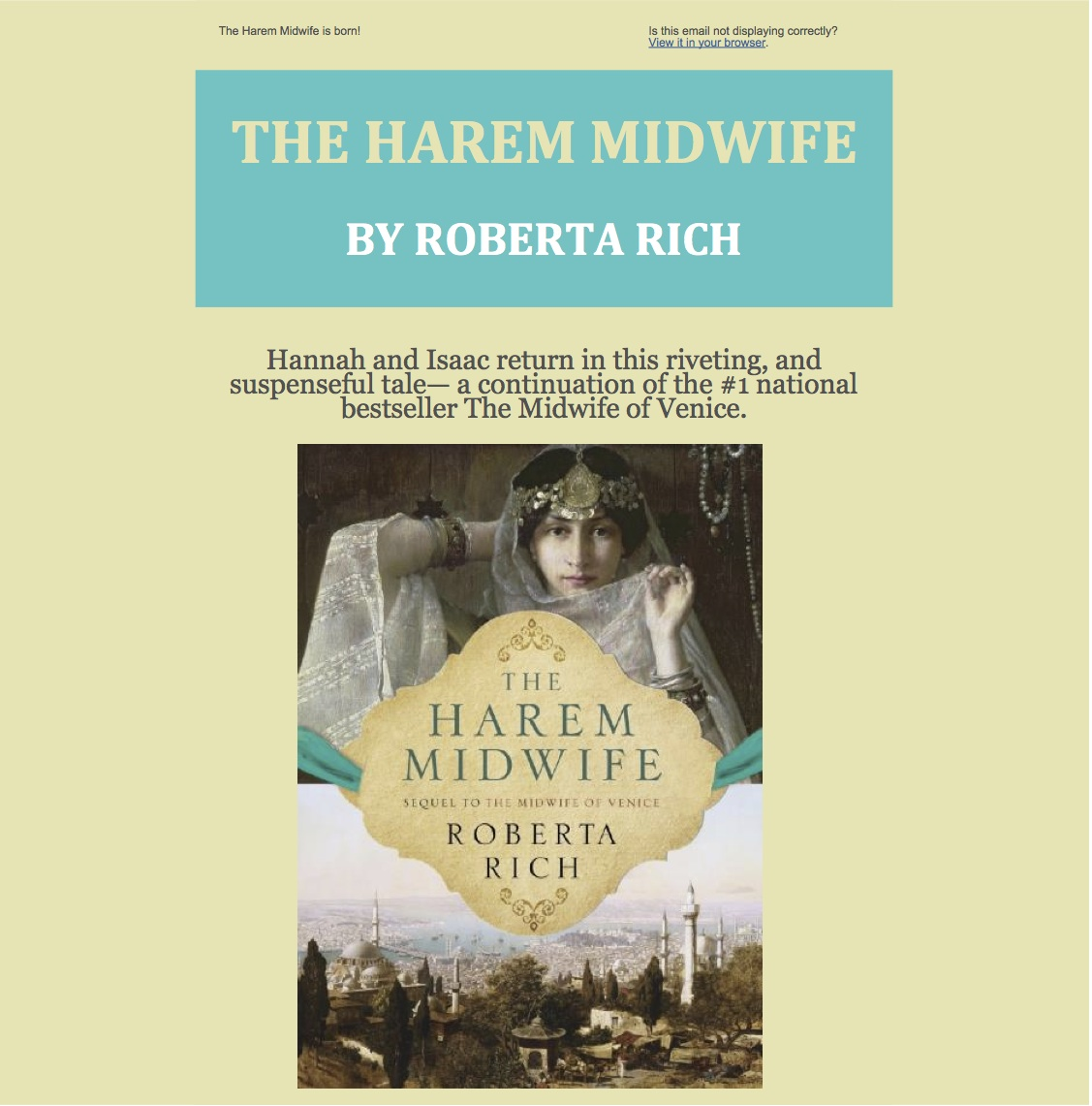 Harem Midwife Newsletter part 1